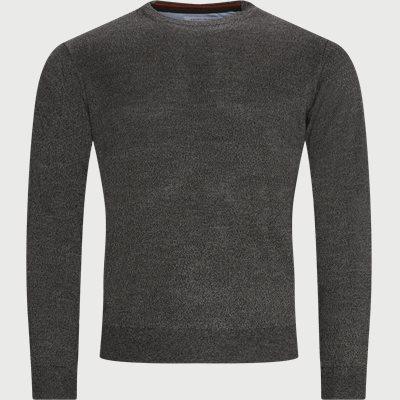 Lipan Merino Striktrøje Regular | Lipan Merino Striktrøje | Grå
